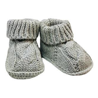 Zapatito Crochet trenzado