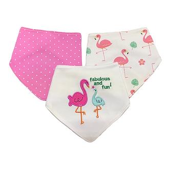 B35 Bandanas Flamingos 3 piezas