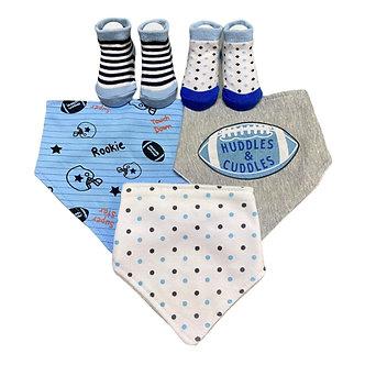 B30 Set 3 bandanas y 2 pares de calcetines, Fútbol Americano