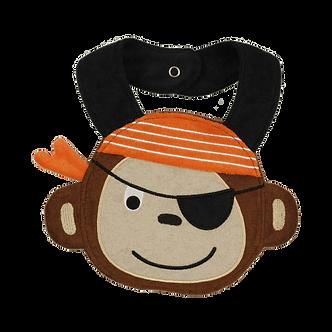 BR49 Babero Chango pirata