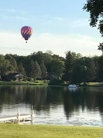 Hot air balloon over Coon Lake.jpg
