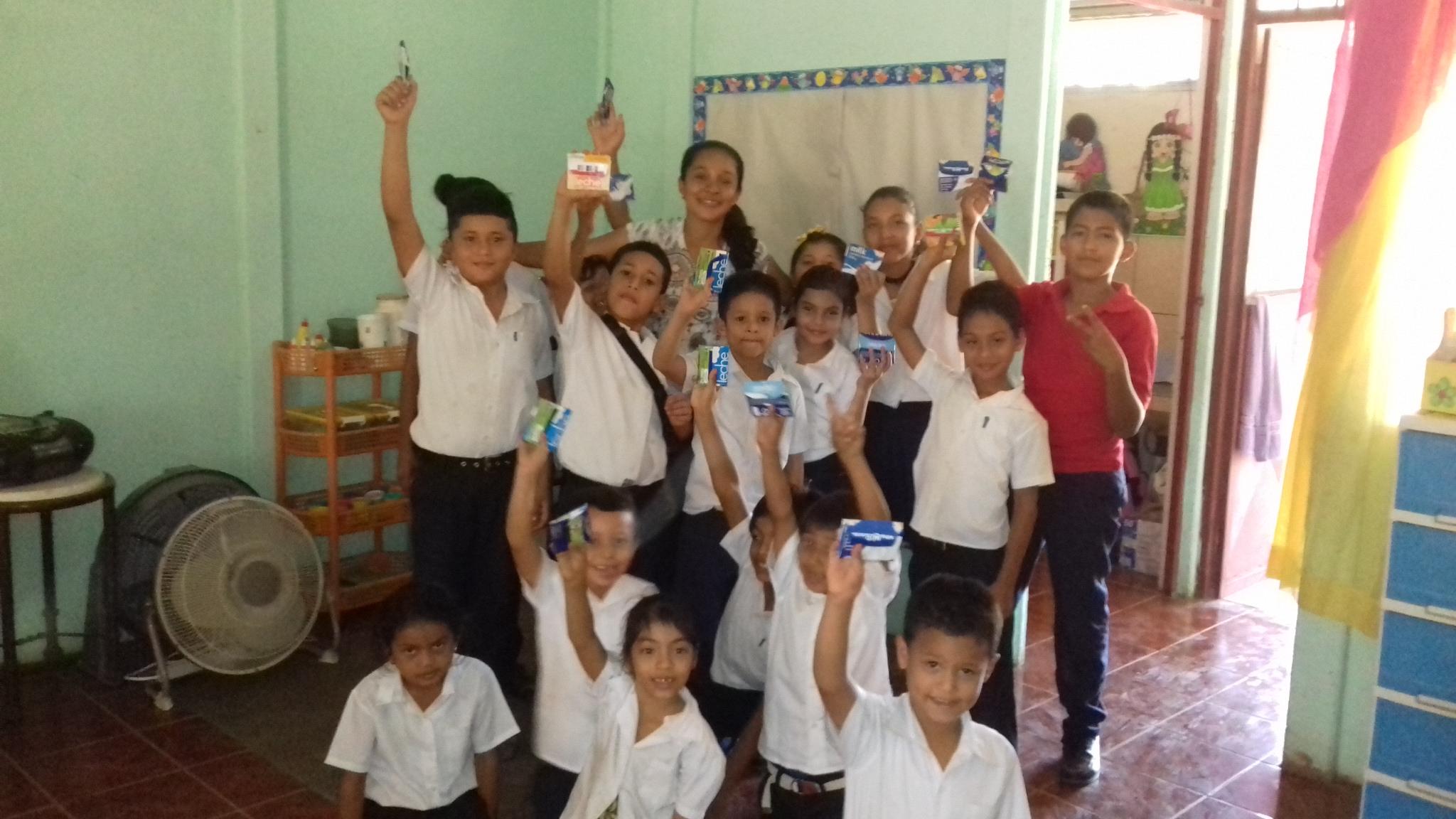 Programa 3'R en escuela de Pavones.