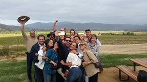 De viaje con amigos en Decantos Vinícola