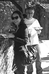 Hugo D´Acosta y Gloria Ramos