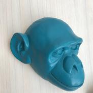 Tête de singe Turquoise