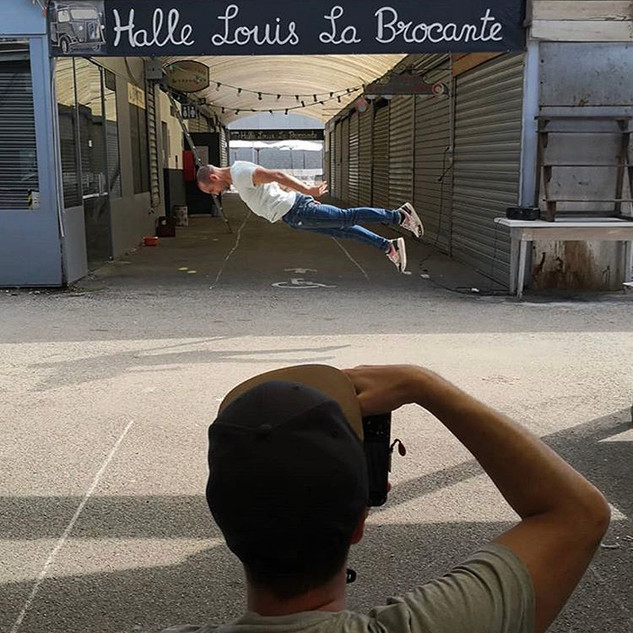 "Shooting ""Dance in Lyon"" aux Puces du Canal"