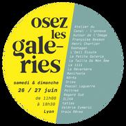 Osez les galeries 26 et 27 juin 2021