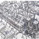 Affiche Notre Dame - Paris