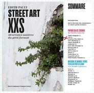 Notre artiste CAL dans le livre Street Art XXS d'Edith Pauly aux éditions Alternative