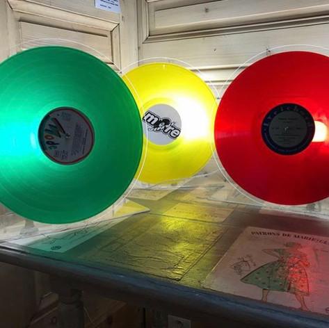 Luminaire Vinyle
