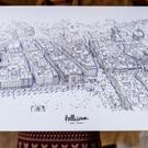 Affiche Bellecour-Lyon
