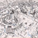 Affiche du plateau de la Croix-Rousse - Lyon