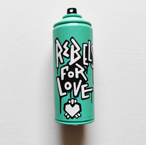 Spray Rebel for love