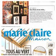 Aux Puces et au resto - Marie-Claire Maison Mai-Juin 2021