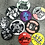 Thumbnail: Start From Zero 15th Anniversary Button Badges Collection | Set of 10