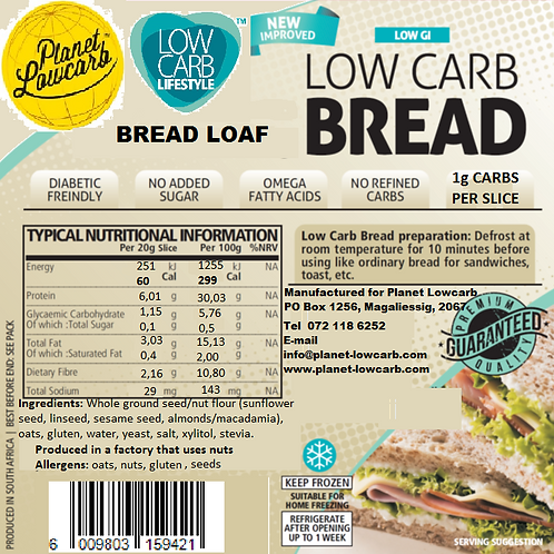 Bread Products Specials