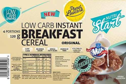 Low Carb Instant Breakfast Cereal (4 portions)
