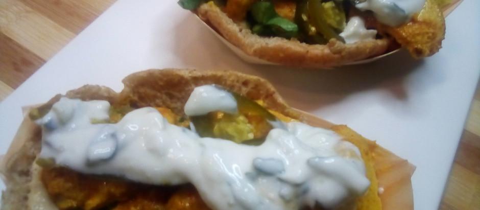Tandoori Chicken Taco's