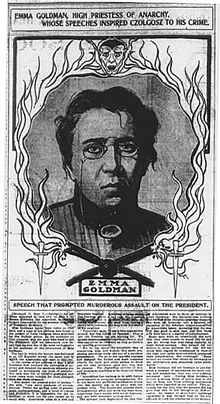 https://upload.wikimedia.org/wikipedia/commons/thumb/f/fa/Newspaper_article_blaming_Emma_Goldman_for_inspiring_Czolgosz_to_assassinate_McKinley.jpg/220px-Newspaper_article_blaming_Emma_Goldman_for_inspiring_Czolgosz_to_assassinate_McKinley.jpg