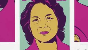 Dolores Huerta, Portrait in Minute