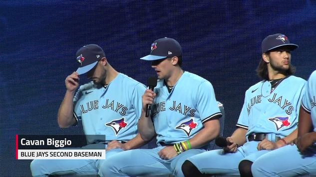 Toronto Blue Jays debut new uniforms