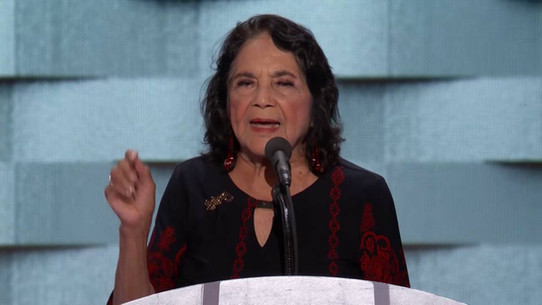 Dolores Huerta at the 2016 Democratic National Convention