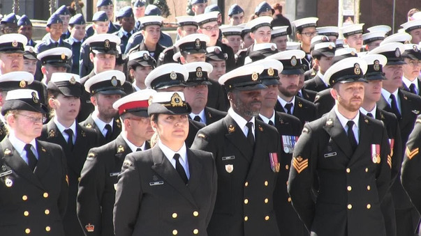 Canadians commemorate Battle of the Atlantic