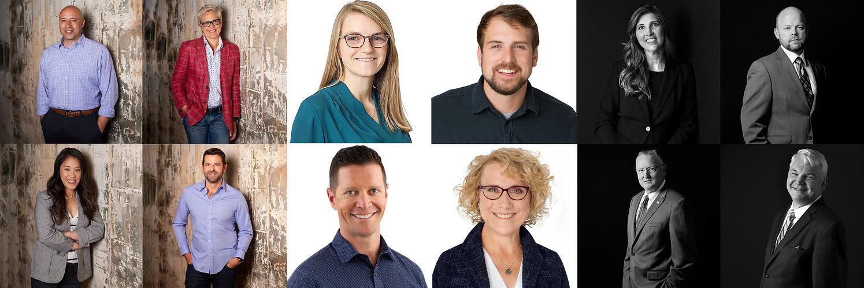 Individual Corporate Team Headshots Look