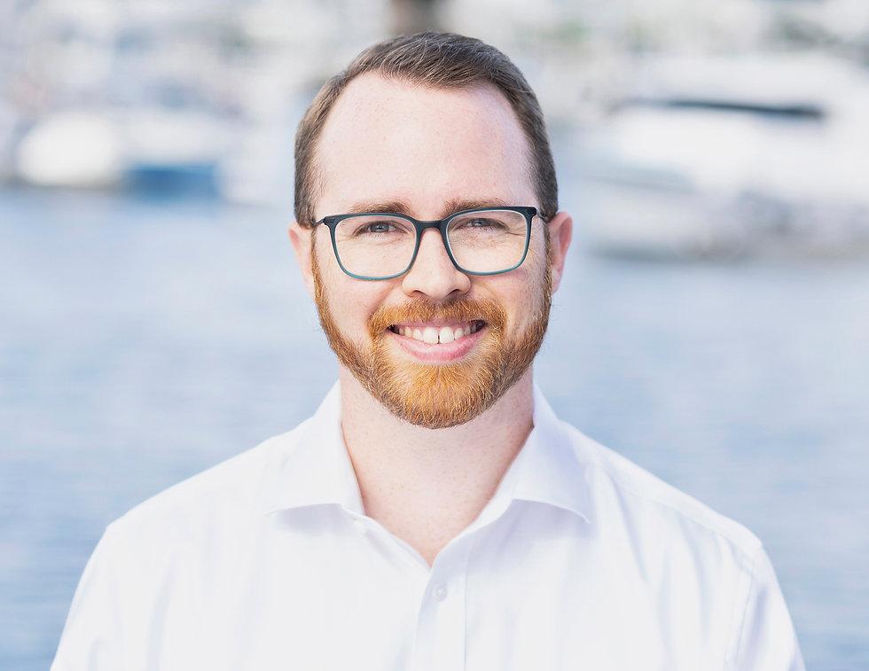 Environmental Profile Headshot Of Young White Male