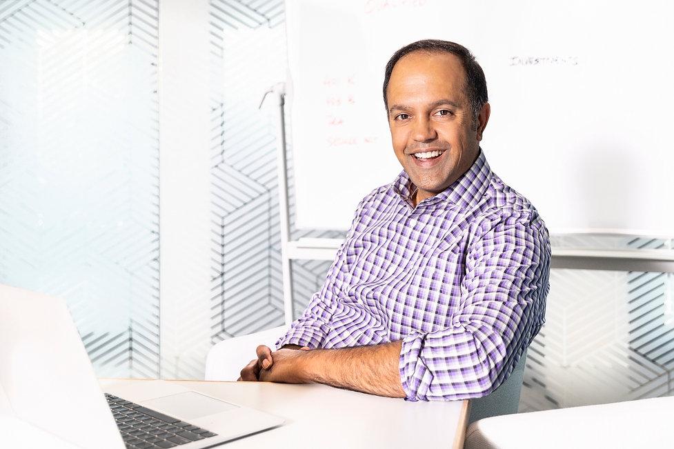 2021 Male Entrepreneur Profile Photo In Office