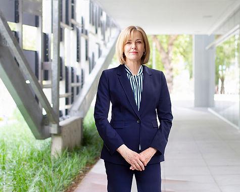 Female executive environmental portrait