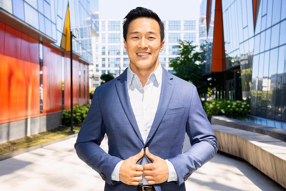 Young Asian Male Entrepreneur