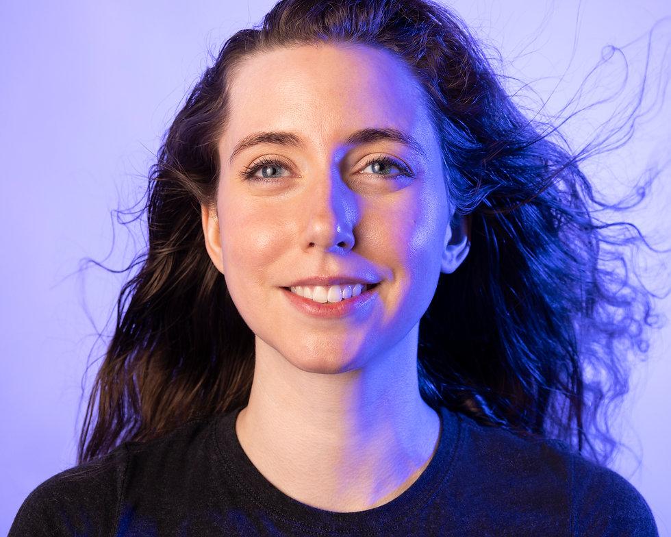 Young Female Profile Headshot