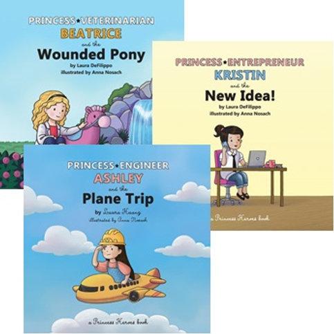 Books 1 through 3 - Set of 3 Books (Paperback)