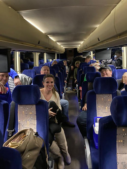 Bus trip down to NYC