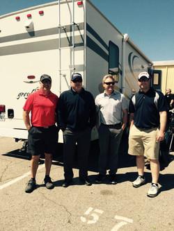 The boys golfing in Nashville
