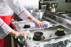 Reinigungsmittel für Gastro