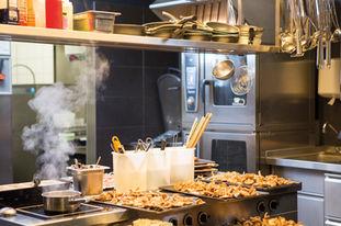 Küche im Einsatz