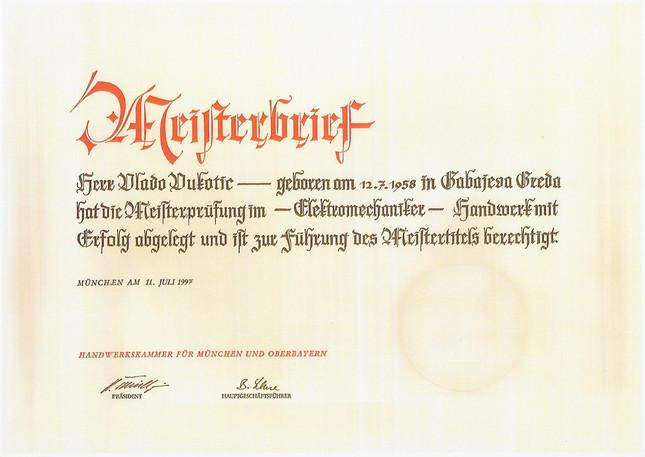 1 1997-07 Meisterbrief Elektromechaniker