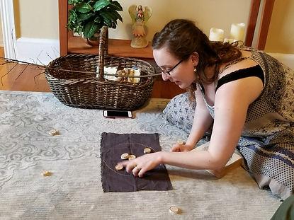 Julie casts runes 1.jpg