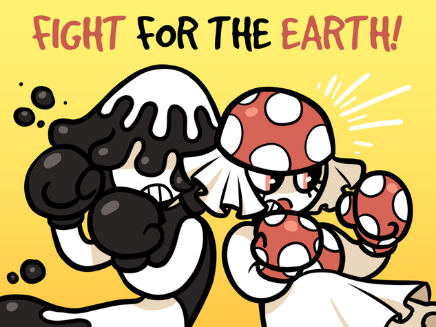 fight for the earth