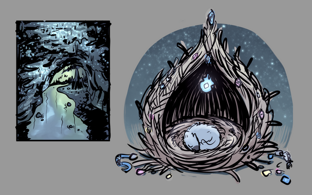 dragon nest concept art