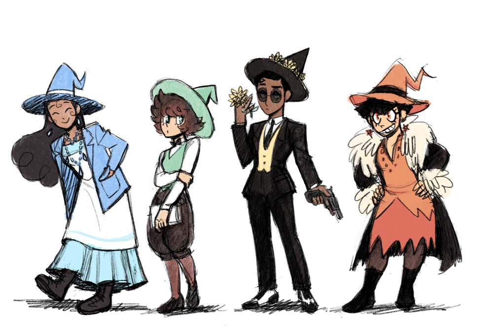 Witches Line Up