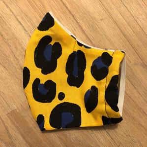 Yellow Leopard Print Ladies