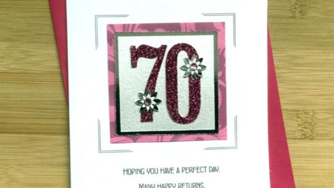 LC7  70th birthday female