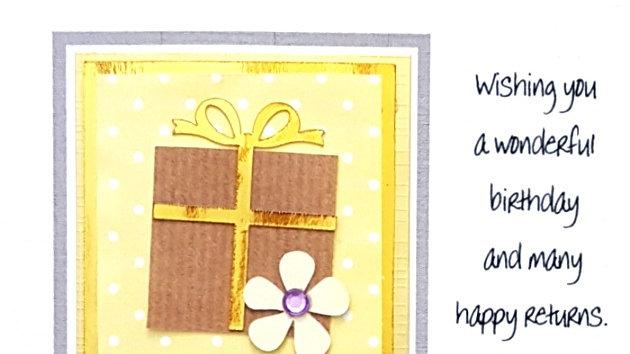 HHF2 female personalised birthday