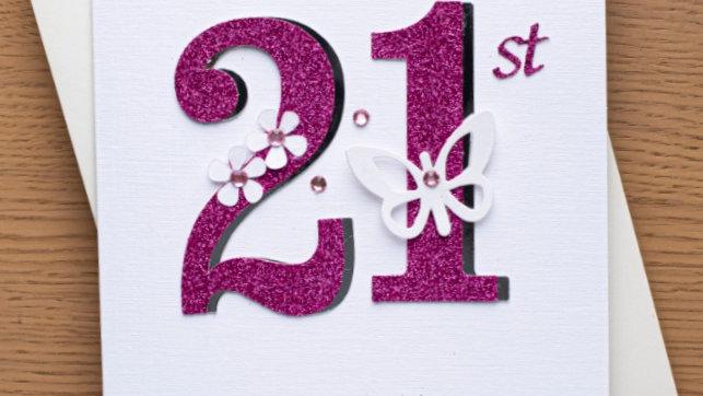 A2 - Female 21st birthday