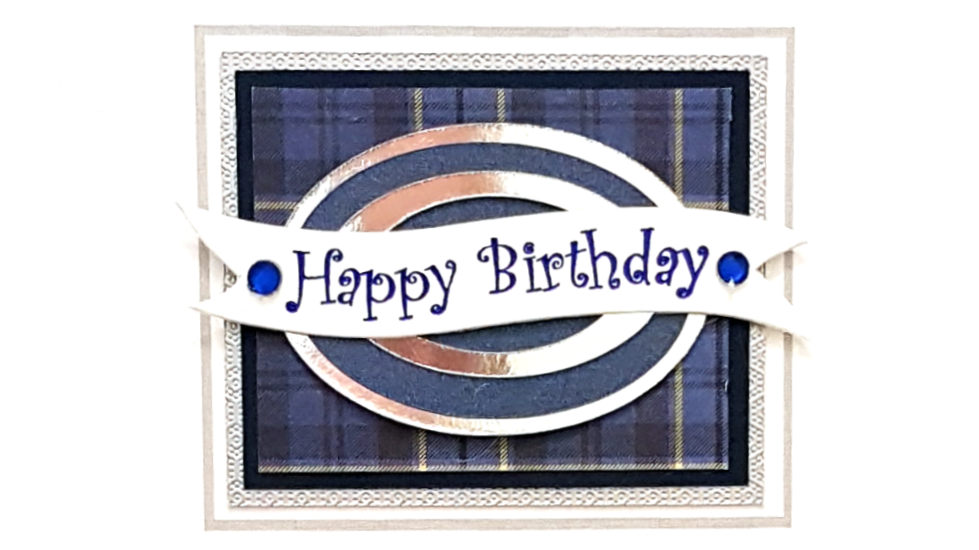 BS45T - male birthday tartan