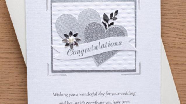 Wedding day card (A5)