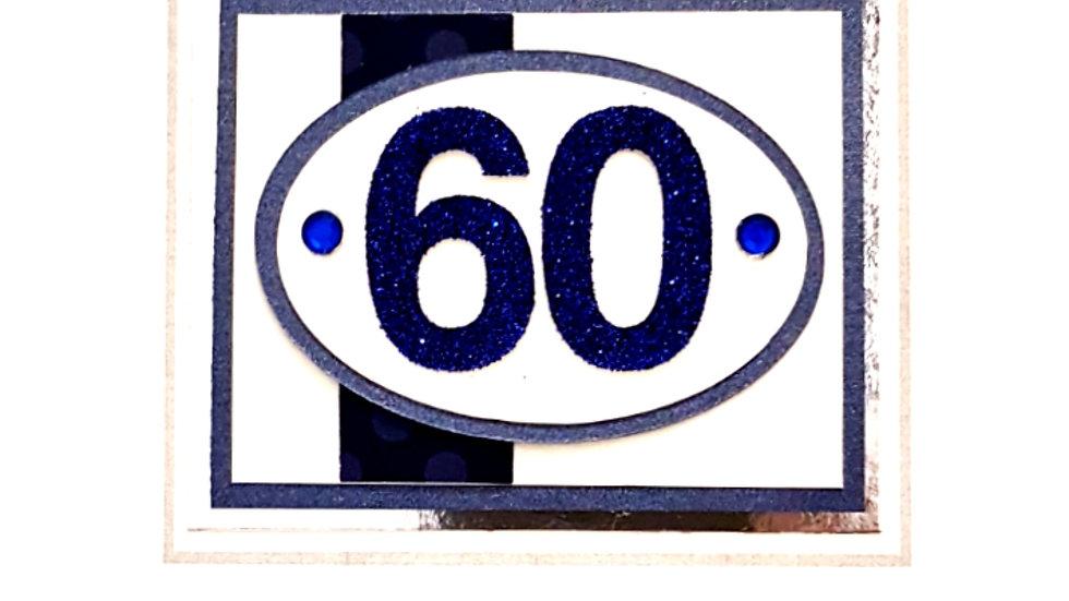 male age 60 birthday (B116)